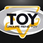 Logo identité d'entreprise René TOY par EMS 41 et 75