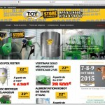 Création sites internet EMS : toy-store, en team avec rêne TOY (I Cintrat e-marketing)