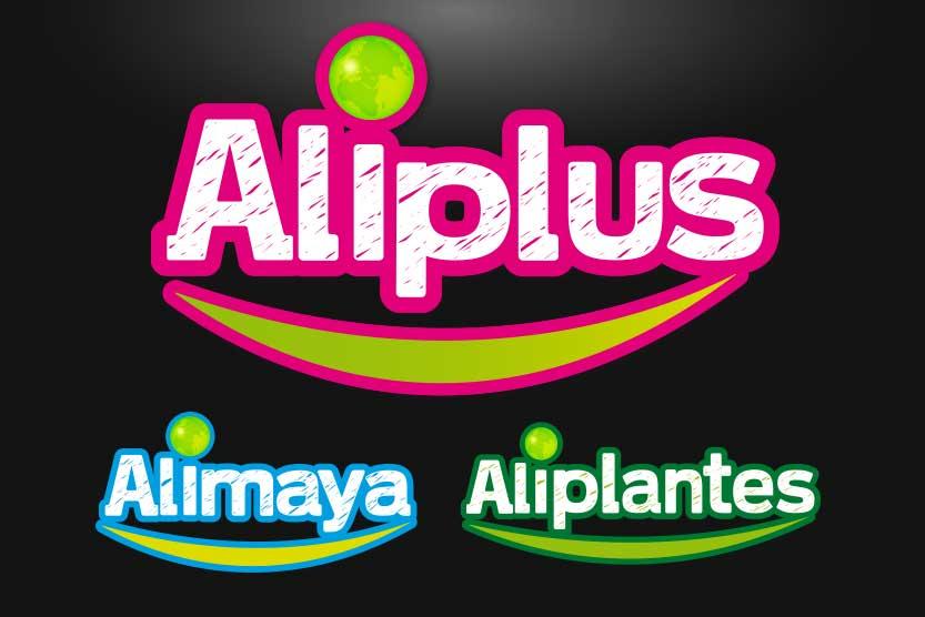 Création graphique logo Aliplus