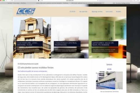 Création sites internet : CCS Cecler (75)