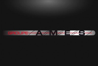 Création identité d'entreprise Groupe AMES par EMS 41